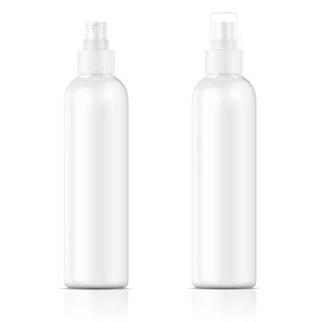 White sprayer bottle template.