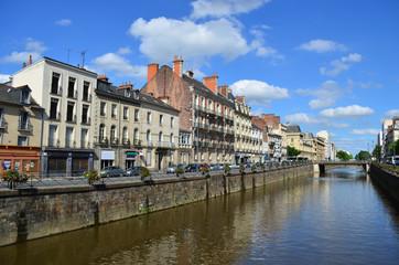 Quai Chateaubriand – Rennes, France