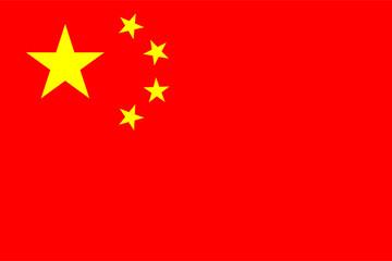 Flag of China Wall mural