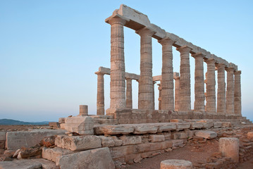 Temple of Poseidon.