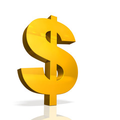Icon of currency symbol of the Dollar.