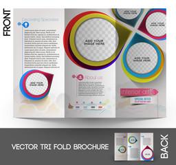 Interior Designer Tri-Fold Brochure Design
