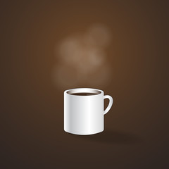 hotcoffee cup vector,Illustration eps 10