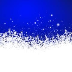 Hintergrund, Eisblumen, Schneekristalle, Blau, Vorlage, Design