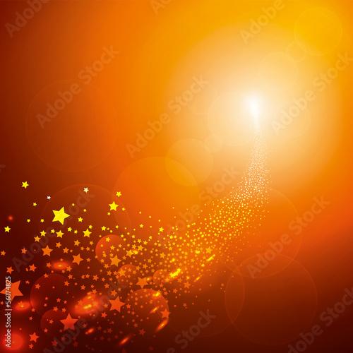 Sternschnuppe Schweif Meteorit Hintergrund Vorlage Sterne