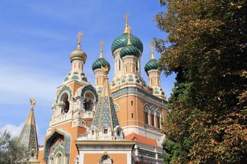 Cathédrale Russe Saint Nicolas de Nice (Côte d'Azur-France)