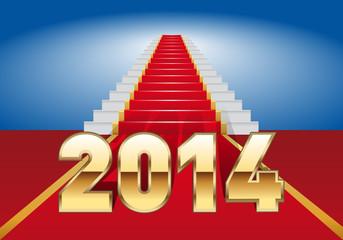 2014_Escalier-Tapis rouge