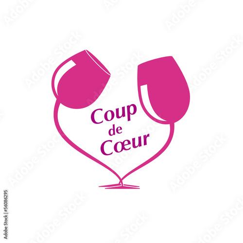 Coup de c ur foire aux vins fichier vectoriel libre de droits sur la banque d 39 images fotolia - Telecharger coup de coeur ...