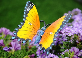 Beautiful symbolic butterfly