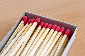 A box of matches.