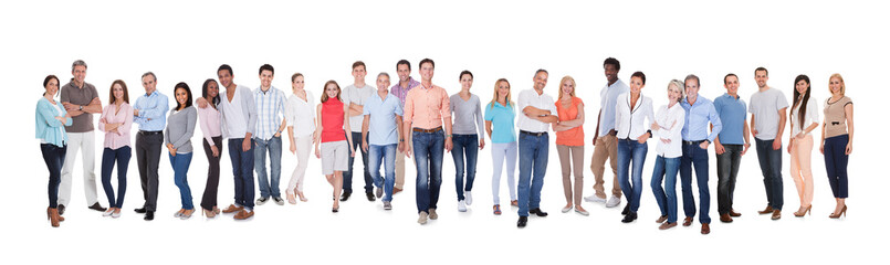 Diverse group of people Wall mural
