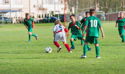 kids football match