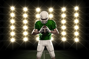 Wall Mural - Football Player