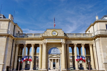 Assemblée Nationale, Paris. Place du Palais Bourbon
