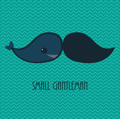 Small gentleman card