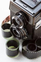 Vintage photo set