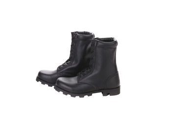 Leather man's boots.