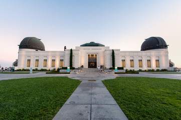 Griffith Observatory building in Los Angeles