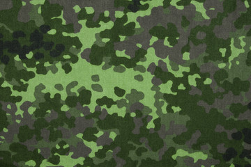 Denish military flecktarn camouflage fabric texture background