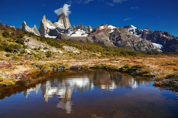 Wall Mural - Mount Fitz Roy, Argentina