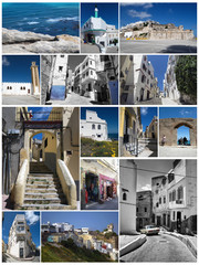 Tangier,Morocco,collage