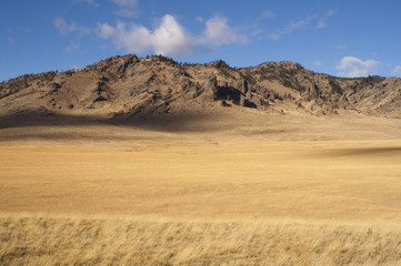 Beautiful Landscape Western United States Idaho Grass Land