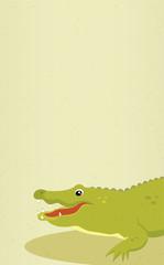 Alligator. Vector illustration.