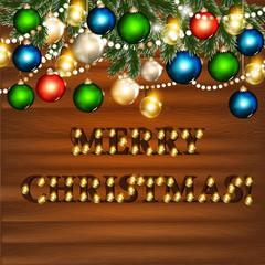 Christmas background for design