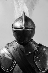 Foto op Canvas Ridders Medieval armour detail