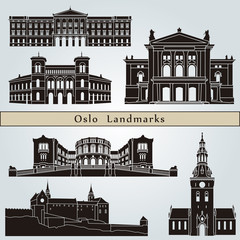 Oslo landmarks and monuments