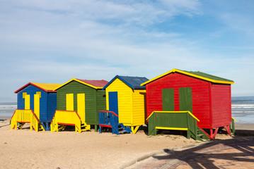 Gordons Bay beach huts