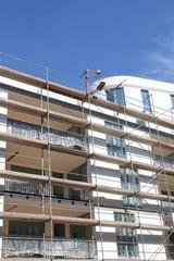 Haus Neubau Baustelle