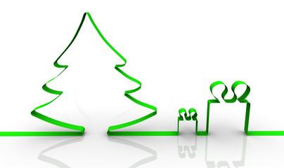 Новогодние подарки. Концепция