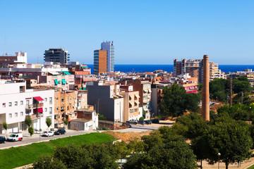 mediterranean city. Badalona