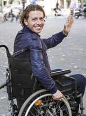 healthcare: wheelchair user