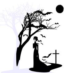 black gothic dame