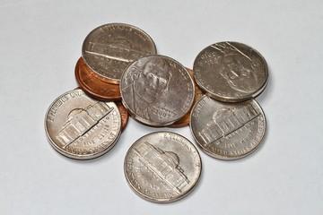 Nickel & penny