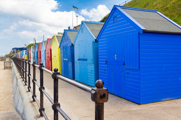 Mundesley Beach Huts Norfolk England