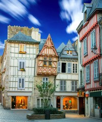 Quimper en Bretagne, France