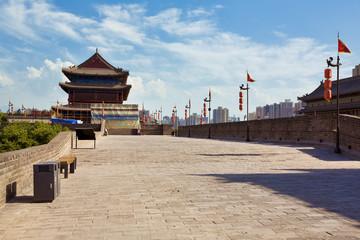 Foto op Aluminium Xian Xian - ancient city wall