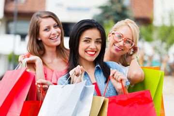 Girlfriends Gone Shopping