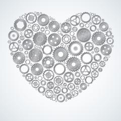 Mechanical iron heart.
