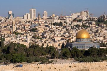 old Jerusalem cityscape