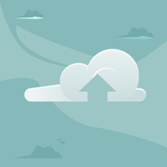 Cloud Computing office man