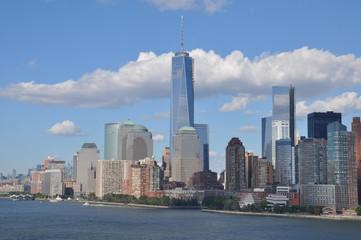 Lower Manhattan Skyline with One World Trade Center