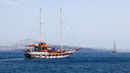 Thirasia Island Santorini Greece Europe
