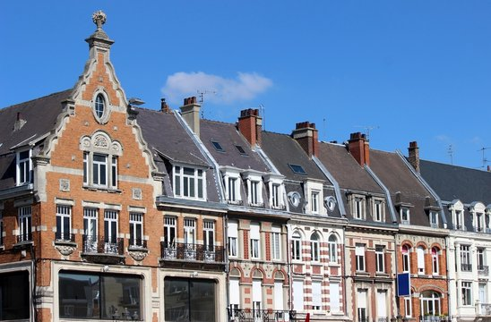 Habitat ancien de style flamand à Cambrai