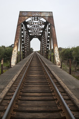Photo of railroad bridge
