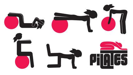 Pilates poses