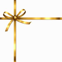 Goldene schleife - Überkreuz